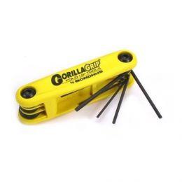 Набор торцевых ключей-шестигранников Bondhus Allen Wrench Set Folding Large Inches